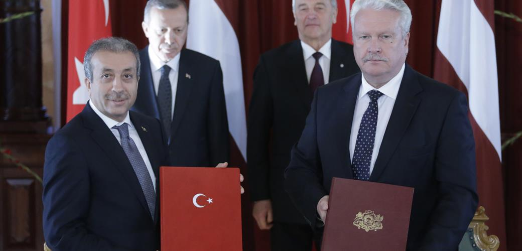 Agricultural Cooperation Protocol signed between Turkey and Latvia