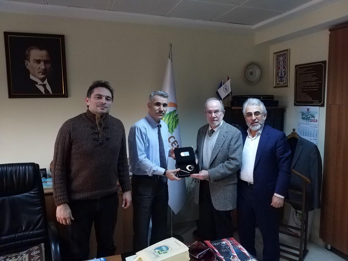 Prof Dr Chadwick D Oliver Ve Undp Türkiye Heyeti Genel Müdürümüzü