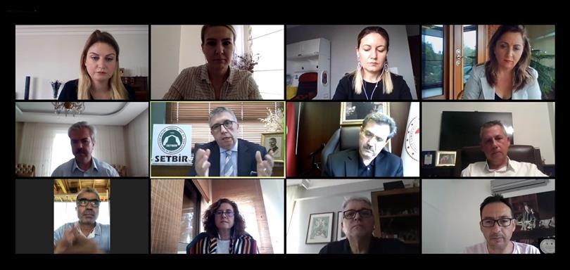 Gıda ve Kontrol Genel Müdürü Harun Seçkin SETBİR Üyeleri ile Görüştü