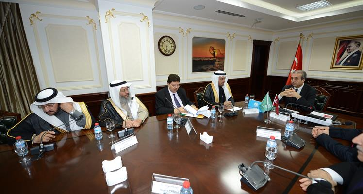 Minister Eker receives Turkey-Saudi Arabia Inter-parliamentary Friendship Group