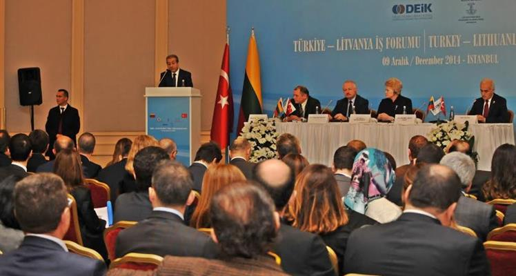 Minister Eker attends Turkey-Lithuania Business Forum