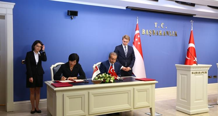Good-will Agreement in Agriculture signed with Singapore