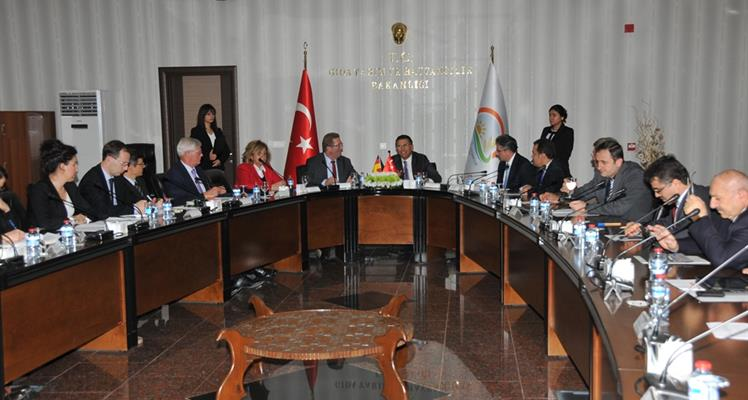 21st Session of Turkey-Germany Agricultural Steering Committee held in Ankara