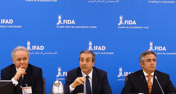 Minister Eker attends 38th Session of IFAD's Governing Council