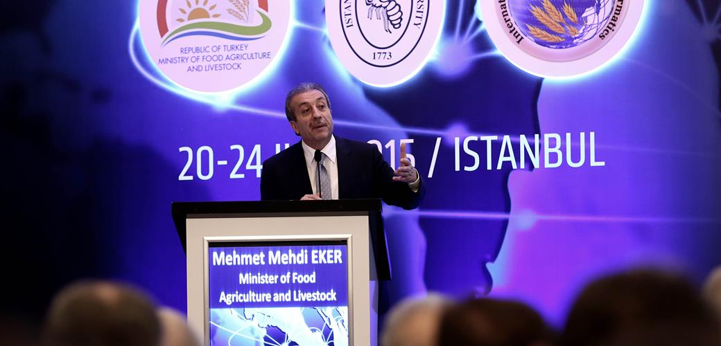 "Minister Eker; ""Turkey efficiently uses information technologies in food and agriculture policies"""