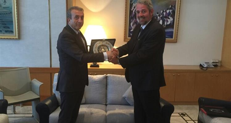 Minister Eker meets with the Minister of Fisheries of Algeria Mr. Ferroukhi