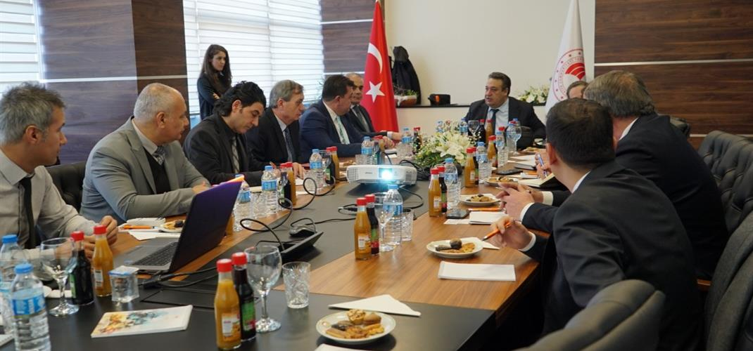 COOPERATION MEETING HELD BETWEEN TAGEM AND UZBEK DELEGATION