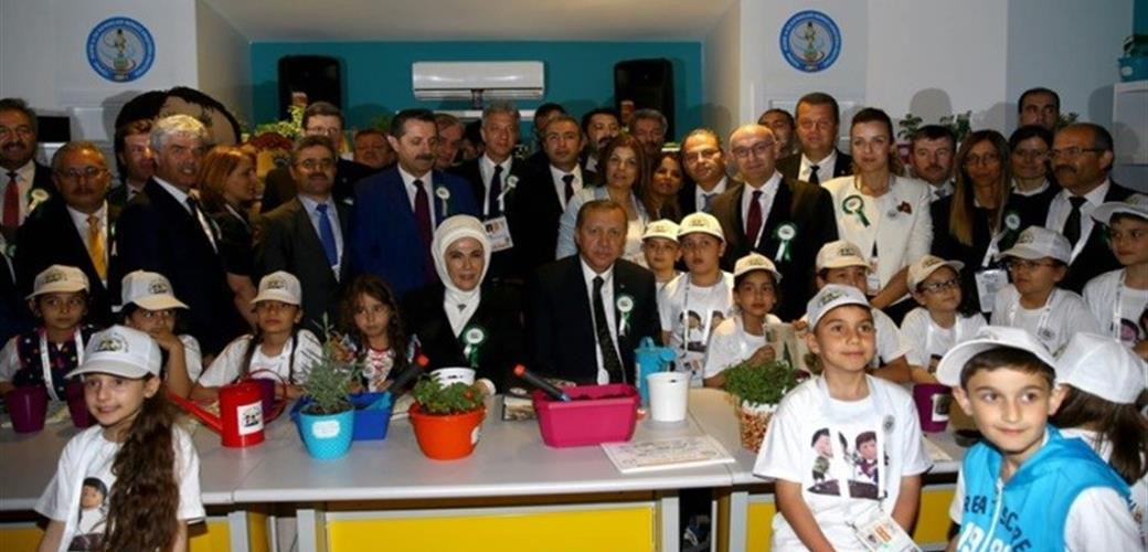 """Saving My Future"" Project, Themed Soil and Water, was Introduced To the Public at the Opening Ceremony for EXPO 2016 - International Horticultural Exposition"